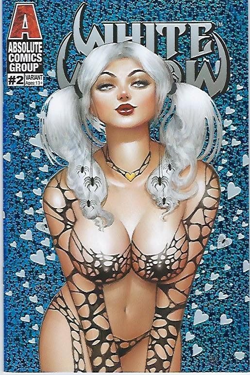 WHITE WIDOW # 2 NATHAN SZERDY FROZEN HEARTS HOLOGRAPHIC FOIL VARIANT COVER !! NM