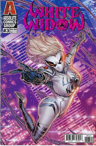 WHITE WIDOW # 3 JONBOY MEYERS PURPLE FOIL VARIANT COVER  !!  NM