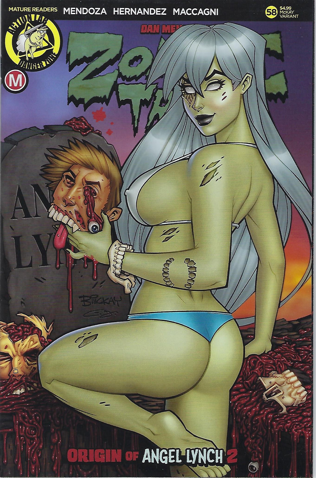 Zombie Tramp # 58 McKay Limited Edition Variant !!  NM