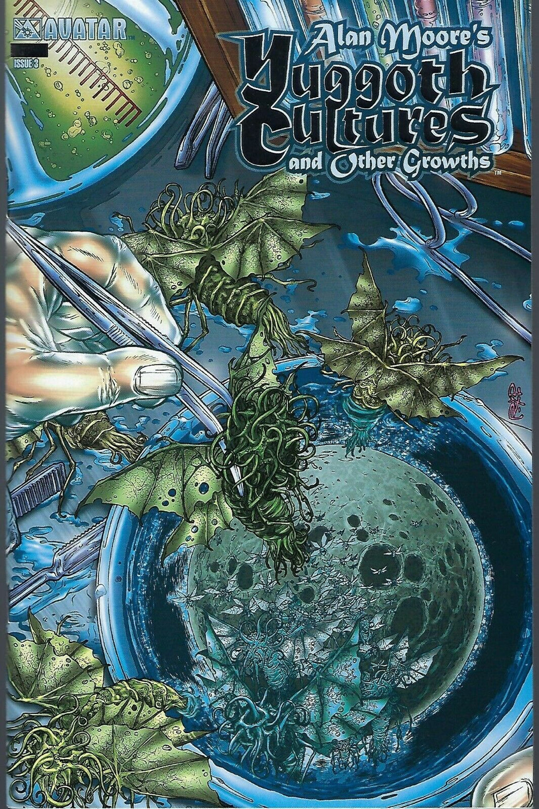 Alan Moore's Yuggoth Cultures and Other Growths # 3 Platinum Edition !!!  NM