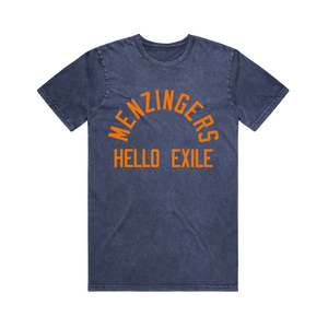 Hello Exile Blue Stone Wash T-Shirt