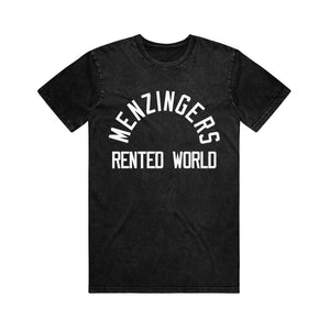 Rented World Black Stone Wash T-Shirt