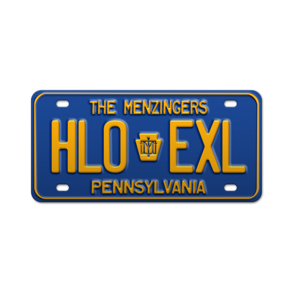 PA Hello Exile  License Plate