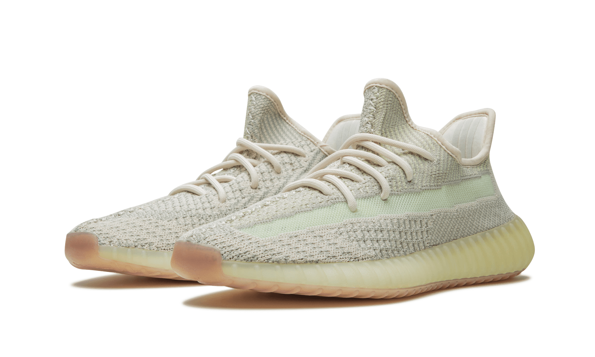 "ZK PREMIUM  Yeezy Boost 350 V2 ""Citrin"" Kanye West Sneakers – FW3042"