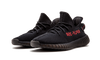 "ZK PREMIUM  Yeezy Boost 350 V2 ""Black/Red"" Kanye West Sneakers – CP9652"