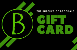 Online and In-store Gift Cards