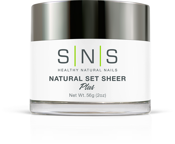 SNS Dipping Powder - Natural Set Sheer