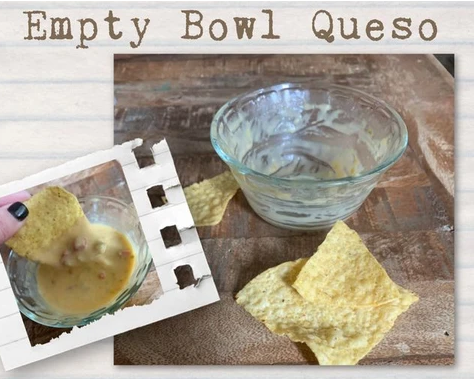 Chile, Cheese and Chips: a Review of Empty Bowl Queso.
