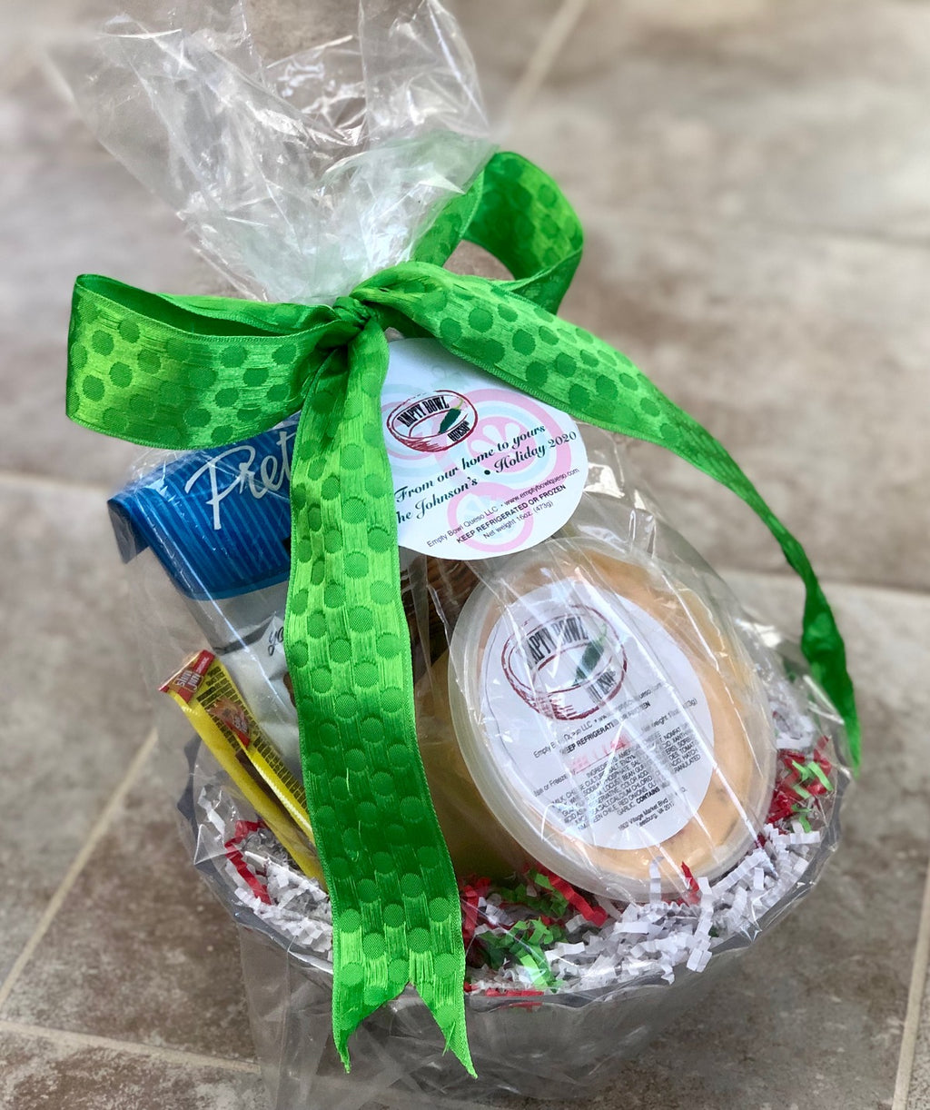 Empty Bowl Queso Gift Basket