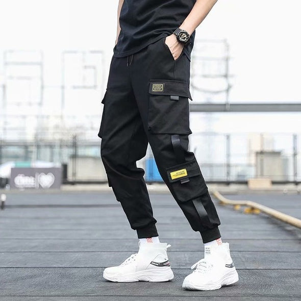 Side Pockets Cargo Harem Pants