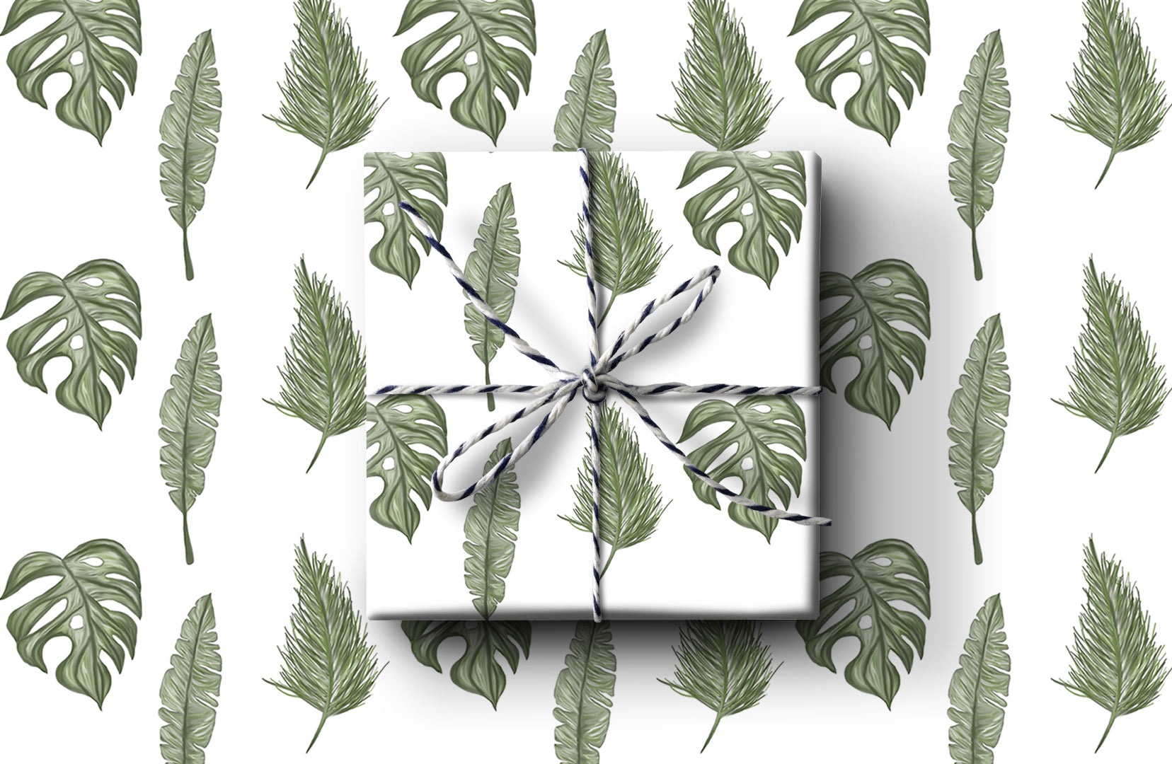 3 Plants Wrapping Paper