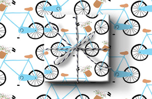 Bike Wrapping Paper