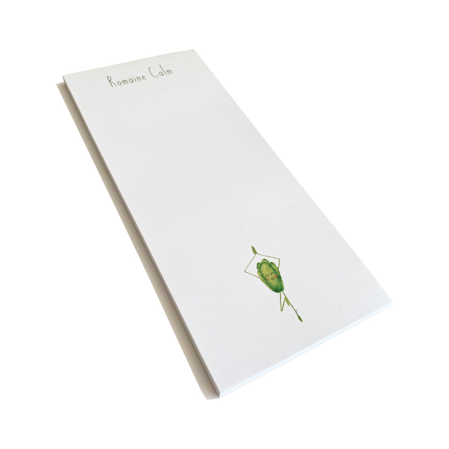 Romaine Calm - list pad