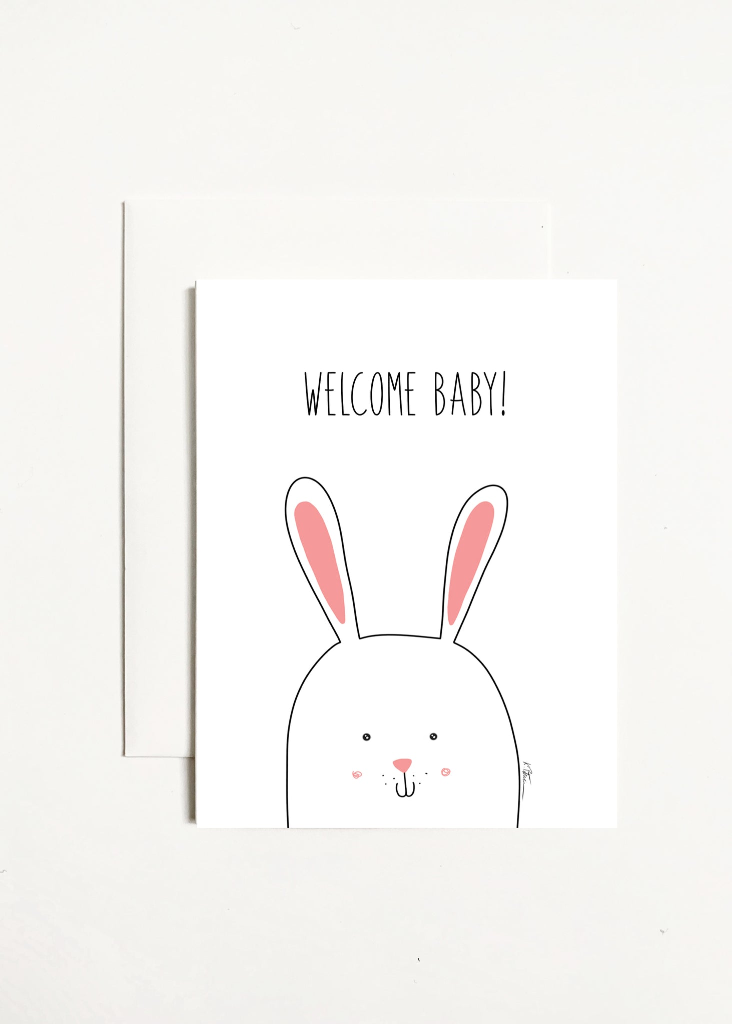 Welcome Baby! - Bunny