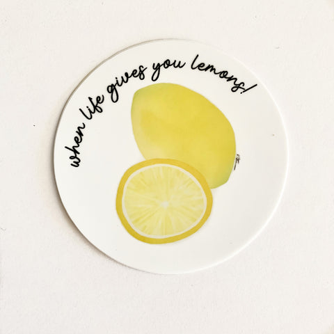 When Life Gives You Lemons!