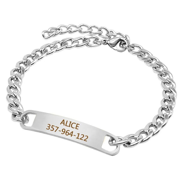 Personalized Chain Collar
