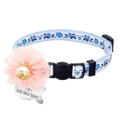 Custom Collar - Lisianthus