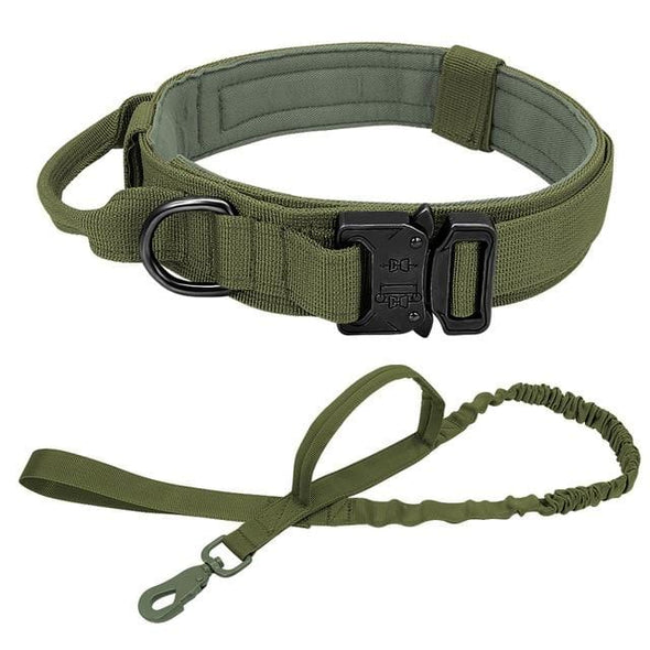 Tactical Dog Collar - Olive Drab