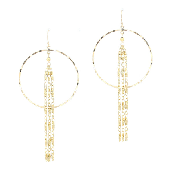 Gina Earrings in Gold