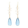 Kira Earrings in London Blue