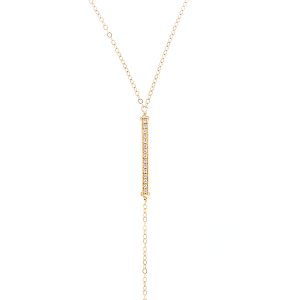 Elise Lariat Necklace