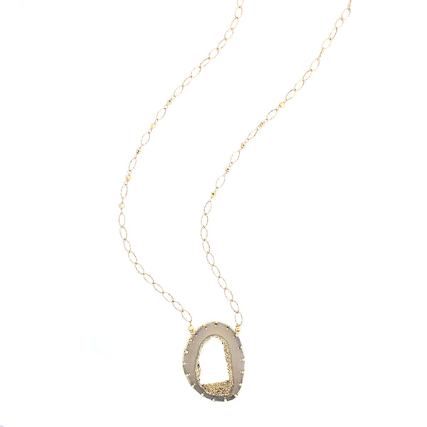 Evelyn Necklace in Gold