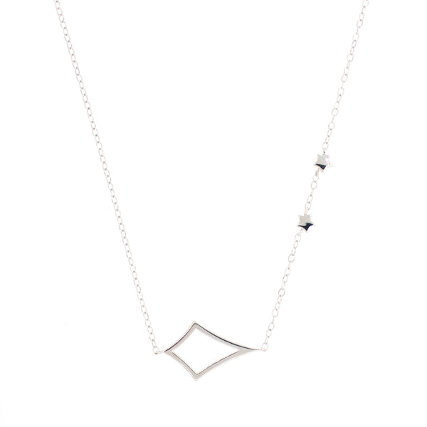 Whitney Necklace In Silver
