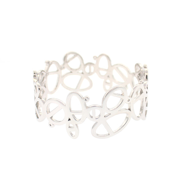 Tory Bangle In Silver