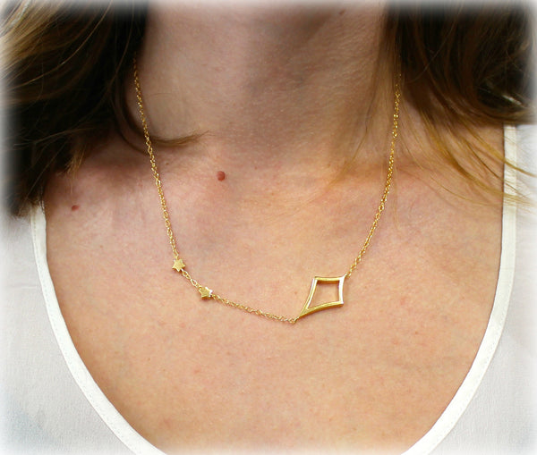 Whitney Necklace In Gold