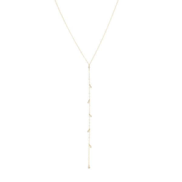 Audrey Lariat Necklace