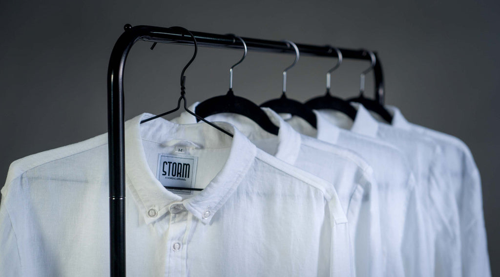 Take care of your linen shirt