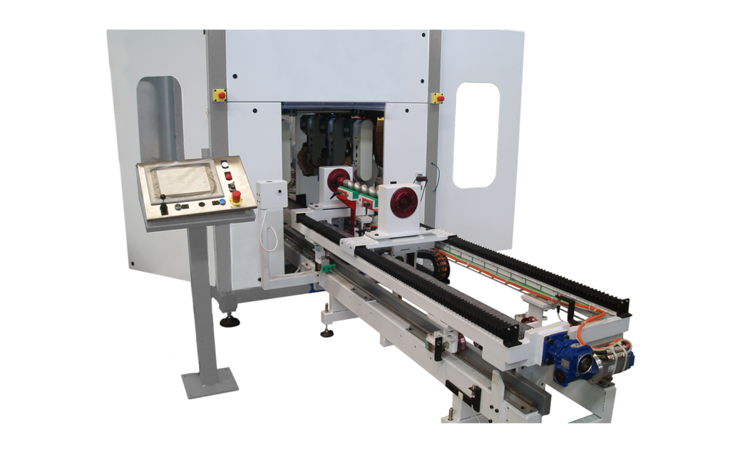 QLC - CNC Controlled Metal Polishing Machine