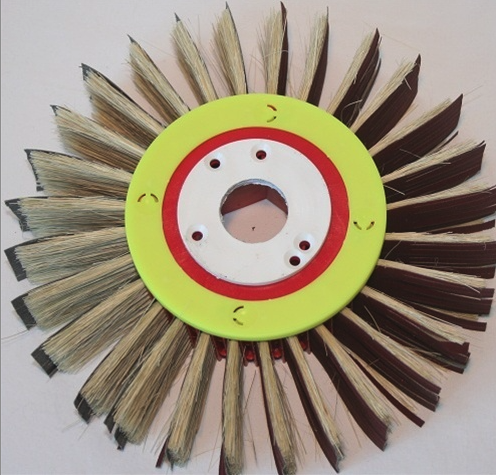 "Flap Wheel - 10""OD - 28 Slot 65mm trim"