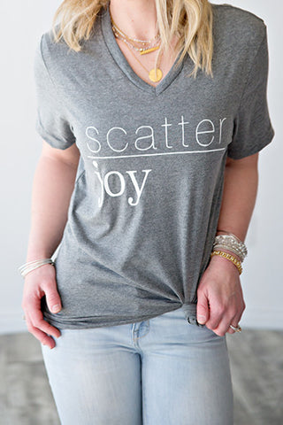 SCATTER JOY | GRAPHIC TEE