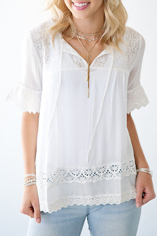 INDIE LACE BOHO TOP