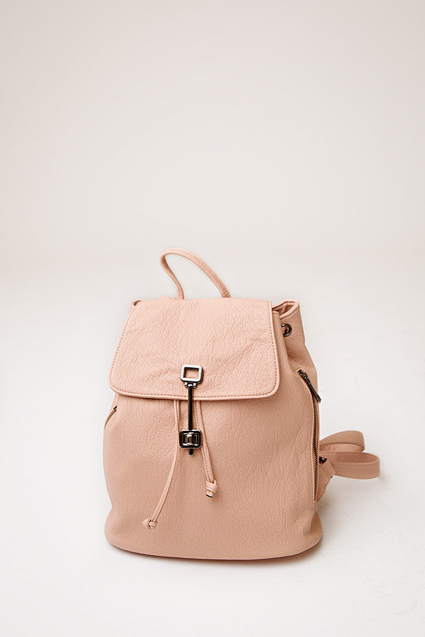NORA BACKPACK | BLUSH PINK