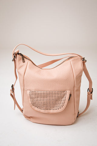 JORDYN CONVERTIBLE BAG  | BLUSH