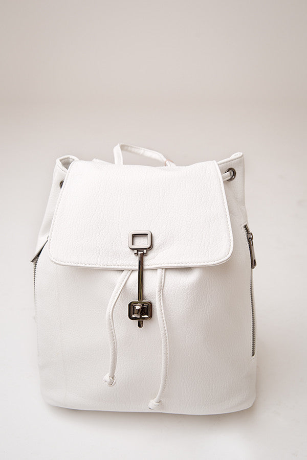 NORA BACKPACK | WHITE