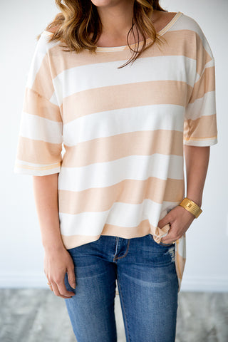 SOPHIE STRIPE TUNIC