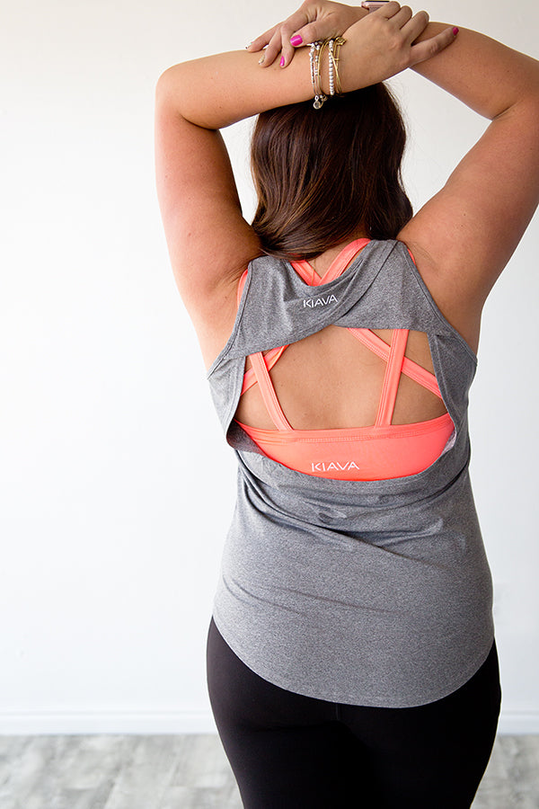 FREE FIT TANK TOP | GREY