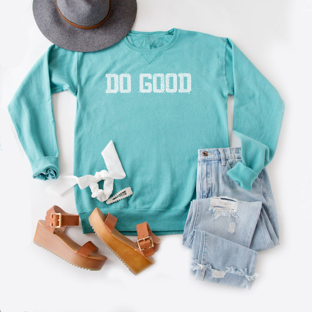 DO GOOD PULLOVER | OCEAN BLUE