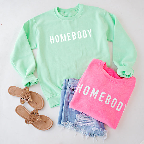 HOMEBODY PULLOVER | MINT