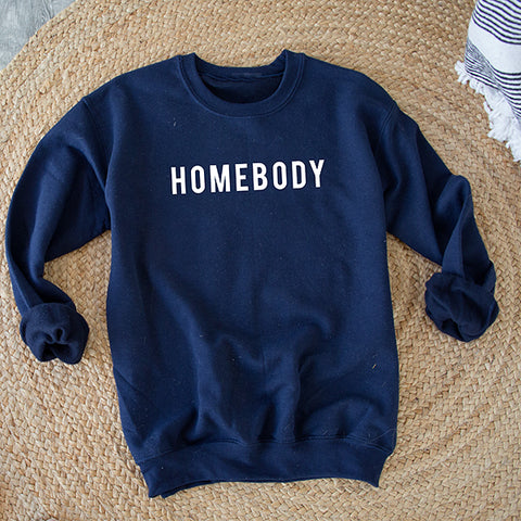HOMEBODY PULLOVER | NAVY