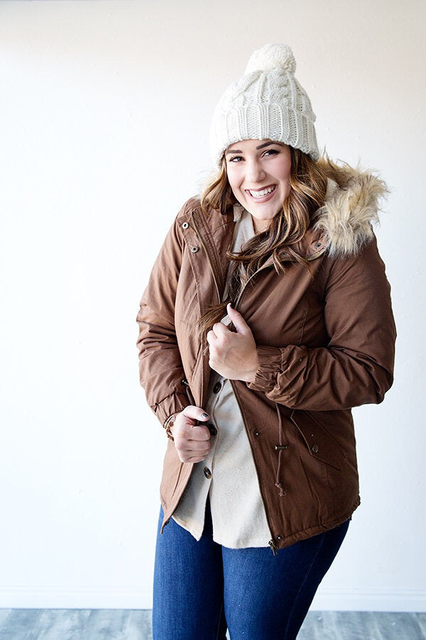 BIRCHWOOD  PADDED JACKET | MOCHA