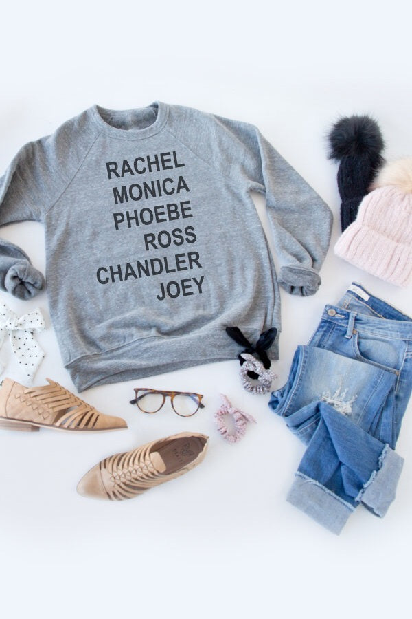 THE ONE WITH .... PULLOVER | GREY