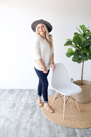 KYRA SWEATER | IVORY