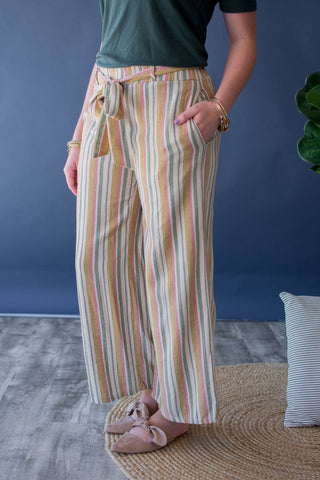 APPLETON STRIPED PANTS