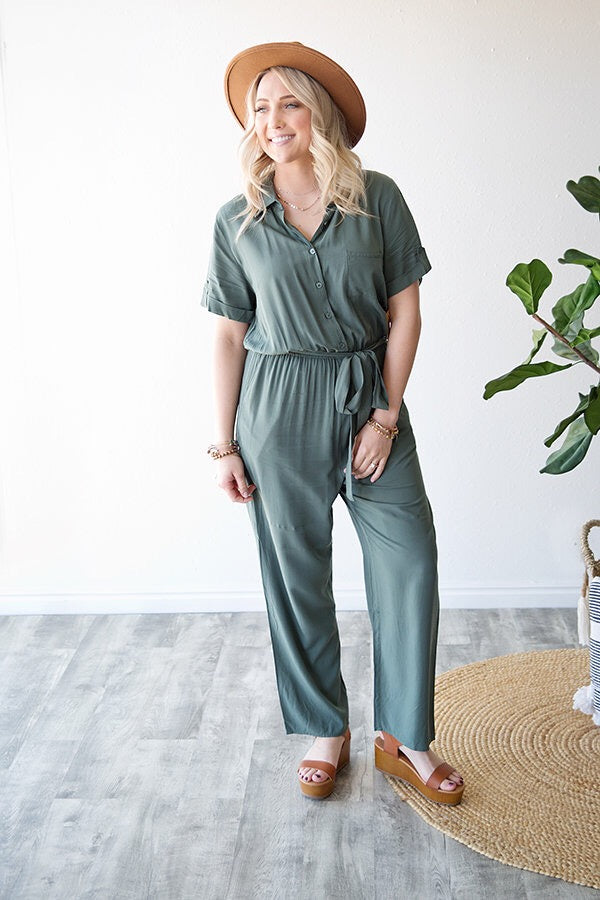 ANDERSON JUMPSUIT | OLIVE