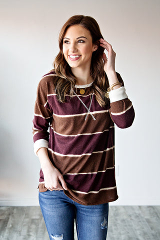 TONI STRIPED TUNIC