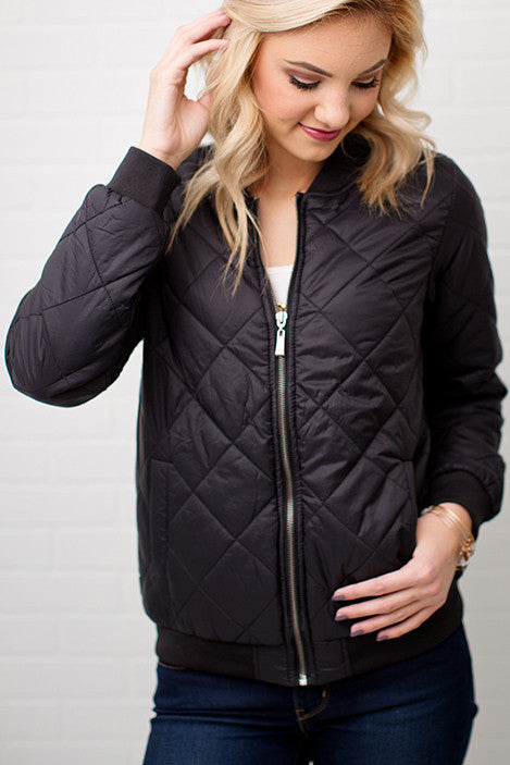 PADDED JACKET | BLACK
